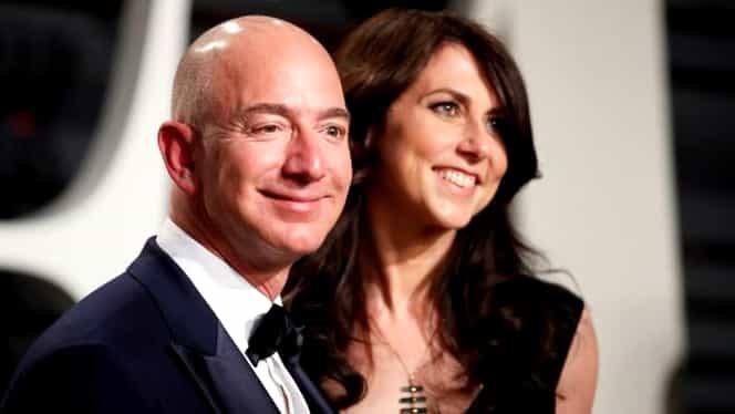 Divorț de 35 de miliarde de dolari. Jeff Bezos a fost nevoit să-i acorde 4 % din Amazon fostei sale soții