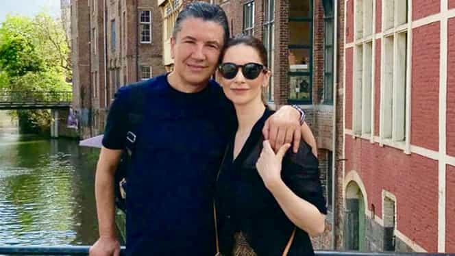 Andreea Berecleanu, în culmea fericirii! Soțul ei, medicul estetician Constantin Stan, la televiziunea franceză
