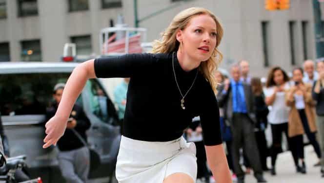 GALERIE FOTO.  Frumoasa actriţă Katherine Heigl, în ţinută sexy pe stradă