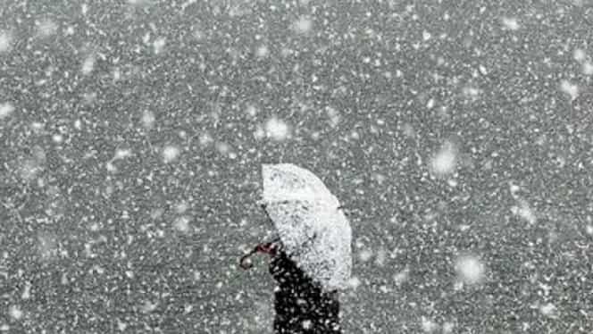 Alertă meteo. ANM: ninsori și viscol. Vreme de coșmar în România până pe 3 decembrie 2019