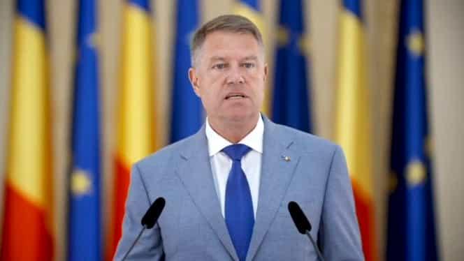 """Klaus Iohannis, după ce a picat Guvernul: """"Voi convoca partidele mâine la ora 11:00"""". Președintele vrea alegeri anticipate"""