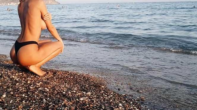 Sonia Sarpe s-a dus la plajă să profite de soare, dar ce a urmat avea să îi schimbe viaţa!