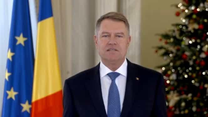 """Mesajul lui Klaus Iohannis de Revelion: """"Să dovedim că România este implicată"""""""