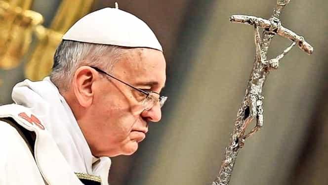 """Anunţul făcut de Papa Francisc: """"Oamenii cu tendințe homosexuale să nu fie acceptați"""""""