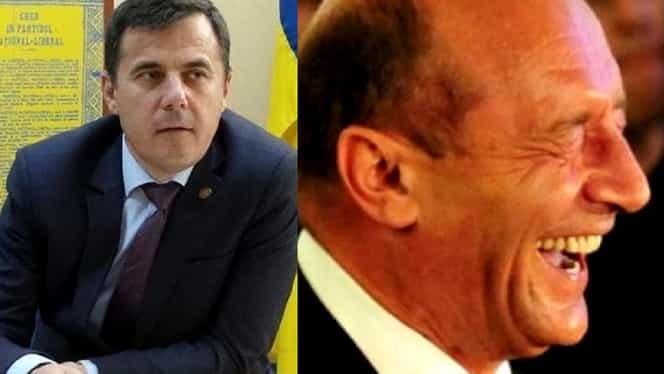 """Traian Băsescu râde de Ion Ştefan, ministrul propus la Dezvoltare Regională:  """"A vrut să facă mall şi i-a ieşit casă"""""""