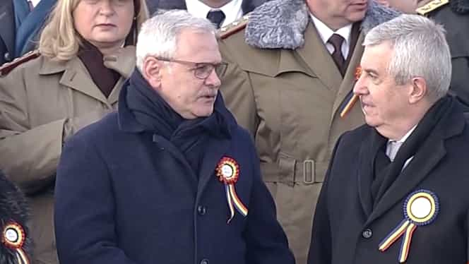 Liviu Dragnea, prezent la parada de 1 Decembrie din București, în ciuda interdicției medicului