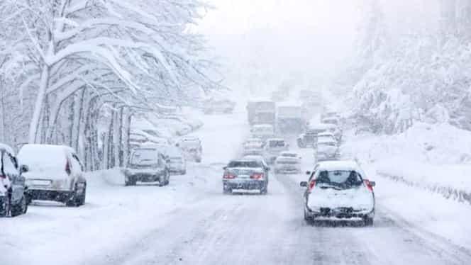 Avertizare meteo! Lapoviţa şi ninsoarea pun stăpânire pe România! Temperaturile vor scădea sub zero grade Celsius