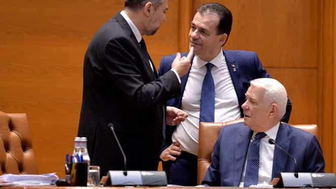Textul moțiunii de cenzură a fost citit în Parlament! Votul ar putea avea loc miercuri. Toate calculele pentru demiterea guvernului Ludovic Orban. Update