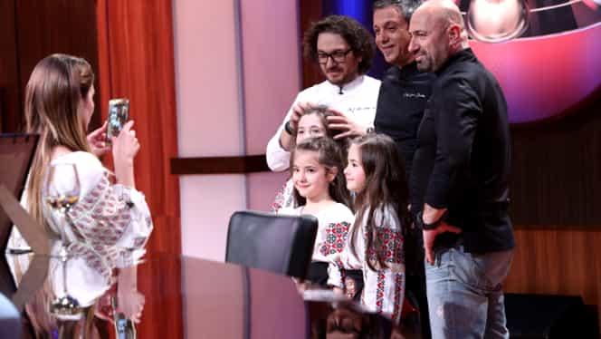 A început Chefi la cuţite, pe Antena 1! Ce familie i-a dat pe spate pe juraţi