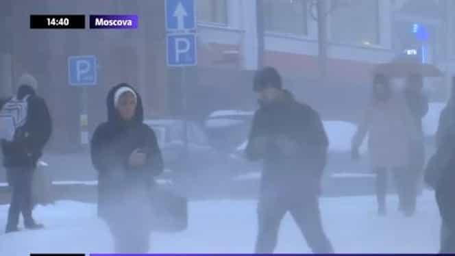Moscova, lovită de o furtună istorică! Cea mai puternică din ultimii 70. FOTO