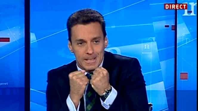 """Cum a apărut la TV Mircea Badea după bătaia încasată în ring de la Tedi motociclistul! """"M-am lovit la cap în weekend și poate nu mai înțeleg bine"""""""