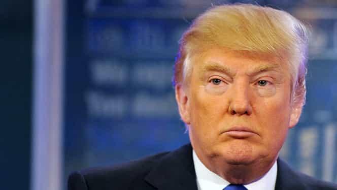 Manifestaţie violentă. Donald Trump, atacat cu ouă şi forţat să folosească o intrare secretă pentru a scăpa cu viaţă