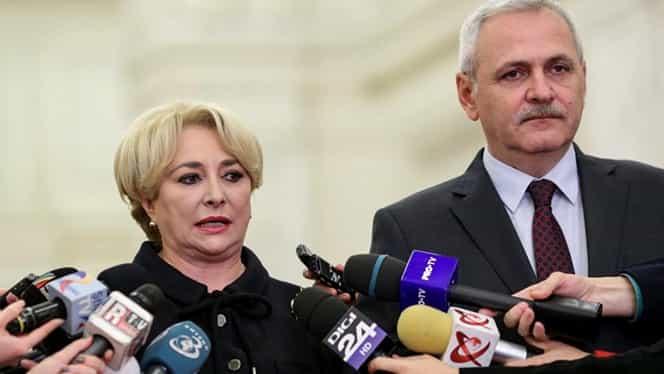 Dăncilă și Dragnea anunță cei 8 miniștri schimbați! Olguța Vasilescu preia Transporturile!