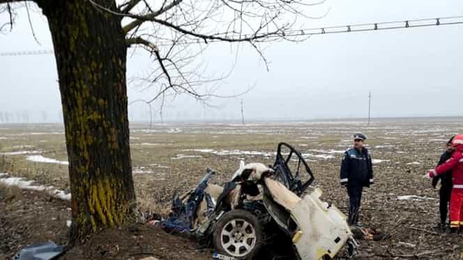 Cine erau cei patru bărbați morți în accidentul din Teleorman! Cum și-au trăit ultimele clipe