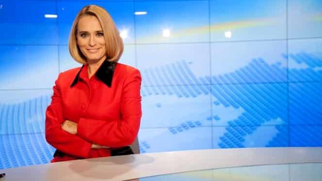 Andreea Esca a făcut o gafă URIAŞĂ în direct la PRO TV
