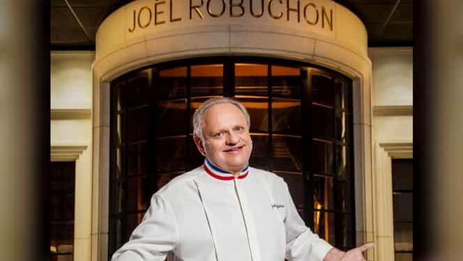 A murit unul dintre cei mai buni bucătari din lume! Joël Robuchon avea 32 de stele Michelin