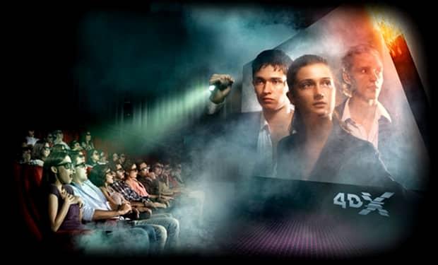VIDEO: Tehnologia 4DX ajunge în cinematografele din Bucureşti