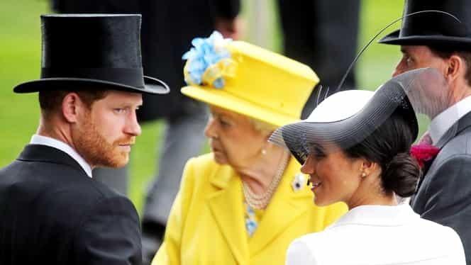 Meghan Markle out de la Palat? De ce vrea regina Marii Britanii să scape de ea