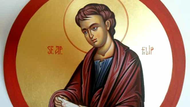 Mare sărbătoare mâine în calendarul ortodox. O mulțime de români îi poartă numele sfântului Filip