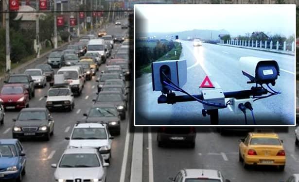 Amenzile pentru lipsa rovinietei sunt înlesnite de cele 74 de camere video care fotografiază numerele de înmatriculare pe drumurile din România