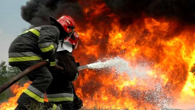 Incendiu puternic în Brașov. O femeie a văzut cum mama ei arde de vie