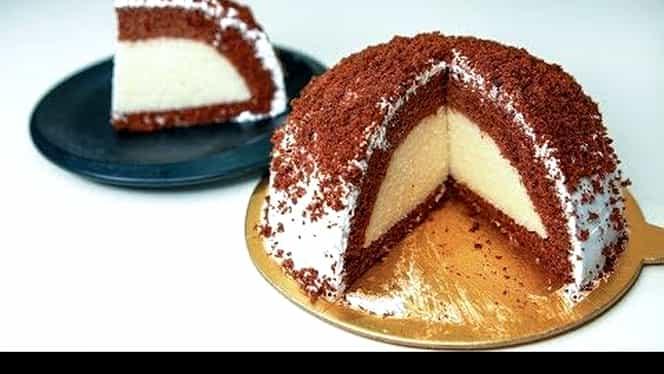 Rețeta zilei. Tort Kümbet Pasta, un desert cu o formă și un gust deosebit