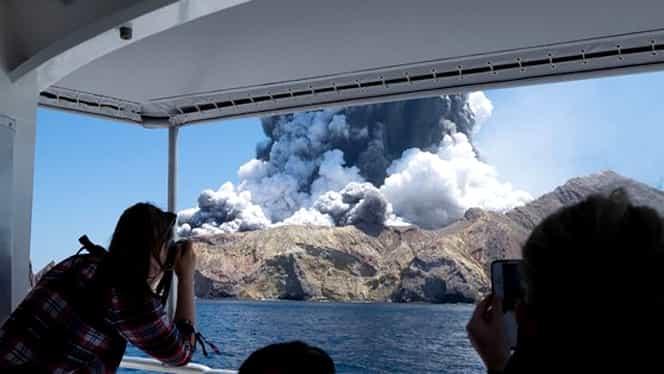 Noua Zeelandă, erupție vulcanică! 19 oameni morți în urma tragediei