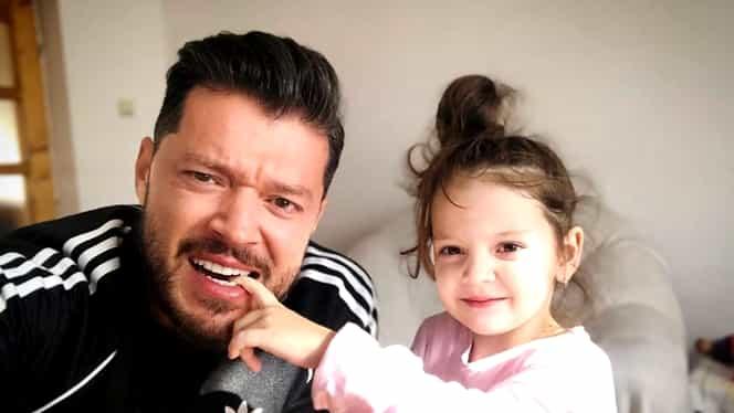 """Victor Slav nu își mai poate vedea fetița: """"Trebuie să ne ferim"""""""