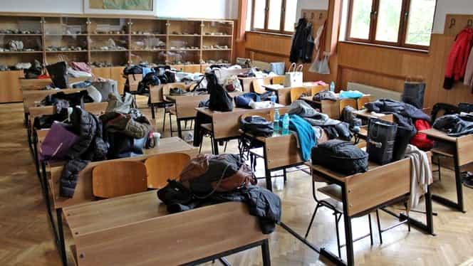 Gripa ține elevii departe de școală. Situația actualizată a școlilor unde cursurile au fost suspendate