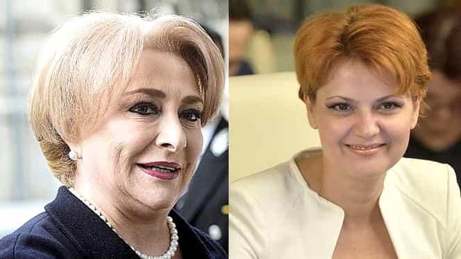 Viorica Dăncilă și Lia Olguța Vasilescu garantează că pensiile și salariile nu vor fi înghețate