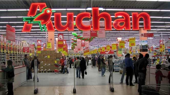 Magazinele Auchan din țară vor avea un nou program de funcționare după intrarea în vigoare a Ordonanței Militare