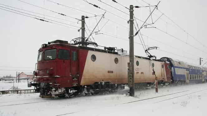 CFR Călători anunţă că circulaţia a 63 de trenuri a fost anulată