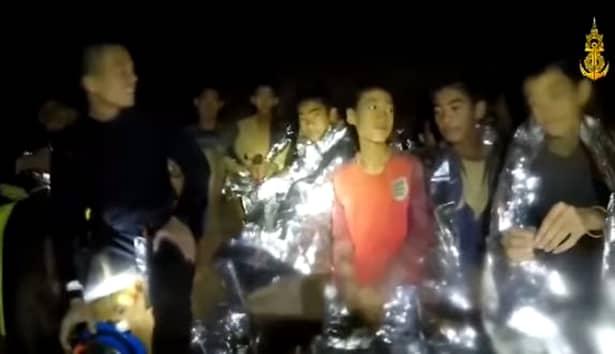 Mesaj copii blocați într-o peșteră din Thailanda