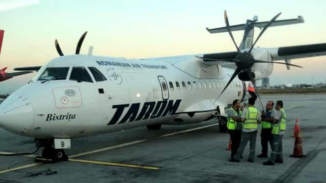 Panică la bordul unui avion Tarom. Pasagerii au trăit clipe de coșmar