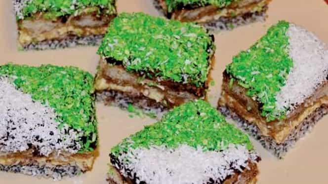 Prăjitura Crăciuniţa e favorita gospodinelor! Se face în Ajun de Crăciun
