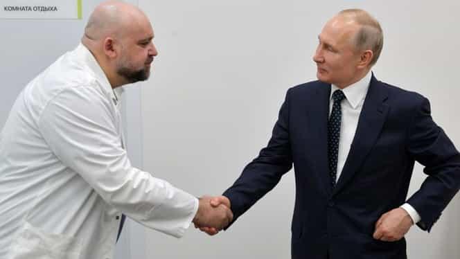 Vladimir Putin s-a întâlnit cu un director de spital infectat cu COVID-19. Președintele rus va fi testat de urgență
