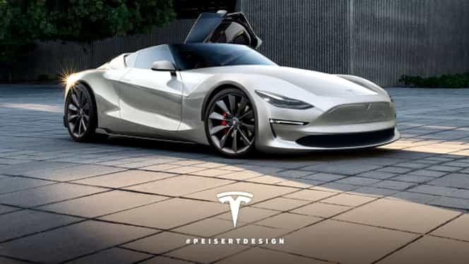 GALERIE FOTO Un american primeşte gratuit ultima creaţie de la Tesla, doar pentru că este foarte convingător!