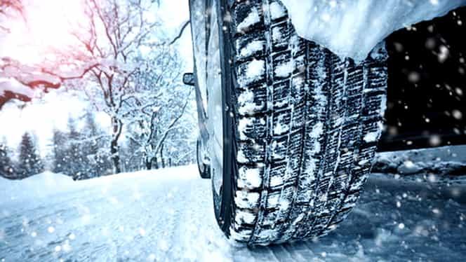 OFICIAL! A început sezonul anvelopelor de iarnă! Amenzi de până la 2900 lei