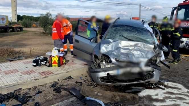 Un alt accident teribil în Spania, după moartea lui Cornel Galeș: doi români, tată și fiu, au decedat în urma ciocnirii a două mașini