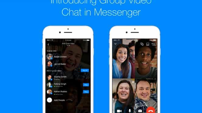 Facebook Messenger are un buton nou! Adaugă mai uşor prieteni în acelaşi apel video!