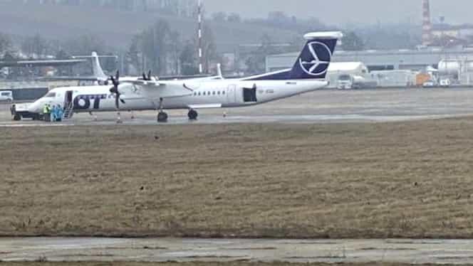 Suspiciune de coronavirus pe Aeroportul din Cluj-Napoca! O aeronavă este blocată la sol – UPDATE Au sosit primele rezultate