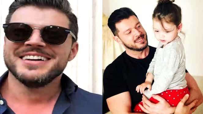 Victor Slav este topit după micuța Sofia. Ce i-a cumpărat vedeta TV în urmă cu scurt timp
