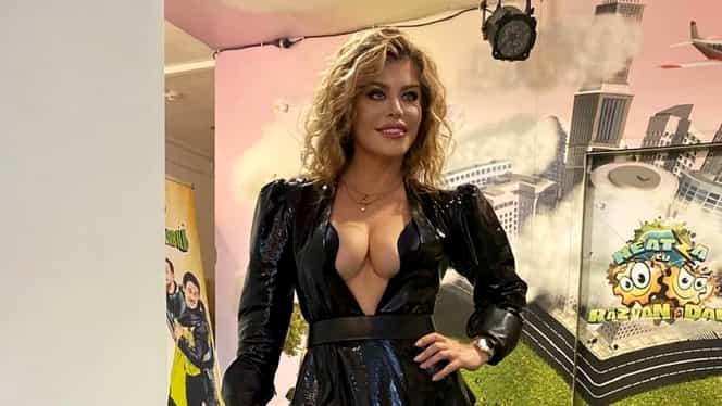 Loredana Groza, o nouă apariție controversată la TV. Cum a venit îmbrăcată în emisiunea lui Cătălin Măruță FOTO