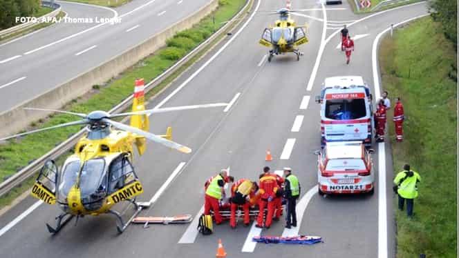 TRAGEDIE în Austria! 5 români şi-au pierdut viaţa într-un accident
