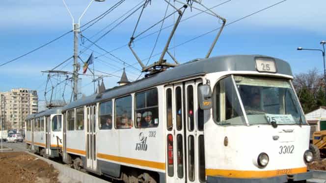 Traseele mai multor tramvaie din Bucureşti, modificate! Vezi ce noi linii sunt înfiinţate!
