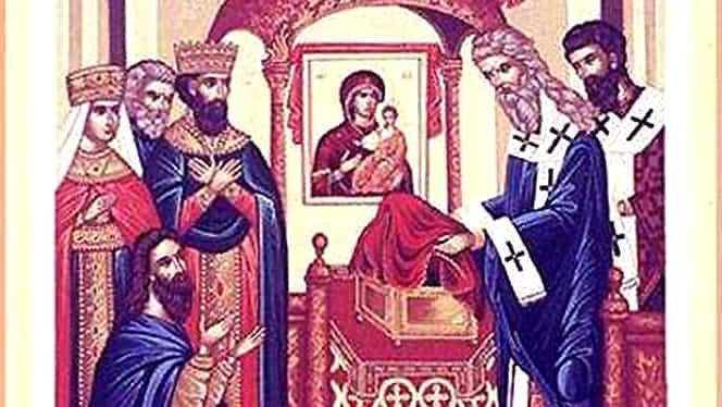 Calendar ortodox 31 august. Este prăznuită așezarea în raclă a brâului Maicii Domnului. Live video de la Mănăstirea Putna