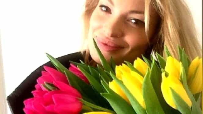 Valentina Pelinel, prima imagine cu micuţul Milan Cristian