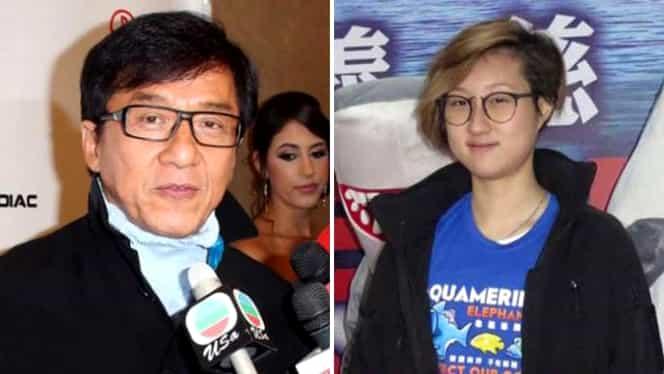 Jackie Chan rămâne fără urmaşi! Fiica sa a recunoscut că este gay! GALERIE FOTO