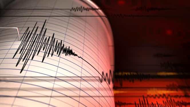 Cutremur în urmă cu scurt timp! Seismnul a avut loc în Vrancea