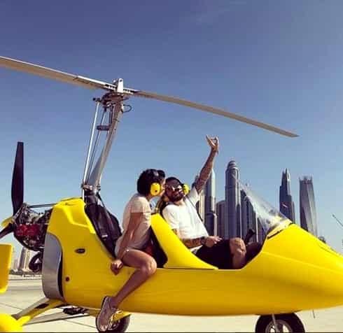 Adelina Pestriţu, vacanţă de vis în Dubai! A fost surpriza ei pentru aniversarea soţului! Cu cine s-au întâlnit